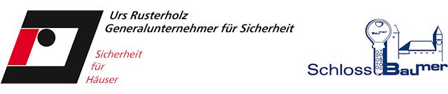 Logo Rusterholz Sicherheit & Schloss Baumer